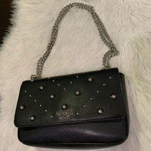 VS Black Studded Chain Handbag
